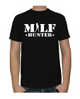 MILF HUNTER PORNO SEX Bitch Party Fan Gag T-Shirt schwarz Geschenk