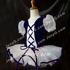 #LB8 Kids Toddler Ballet Leotard Dancewear Dance Tutu Navy 2 3 4 5 6 7 8 Years