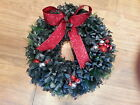 Everlasting Artificial Christmas Xmas Wreaths Decorations - 16 to Choose From