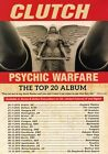 CLUTCH Psychic Warfare 2016 EU & UK Tour PHOTO Print POSTER Band Shirt CD 001