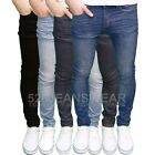 526Jeanswear Mens Designer Stretch Skinny Fit Jeans, Available in 4 Colours,BNWT