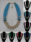 New Fashion Women Lady short Necklace Pendant Jewelry Scarf (7 colour )