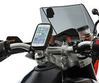 Motorcycle Handlebar Clamp Bolts + Water Resistant Case Apple iPhone 5 5c 5s
