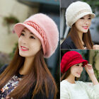 Winter New Fashion Warm Knitted Crochet Slouch Baggy Beanie Hat For Women Girls