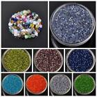 100pcs 3x2mm Faceted  Bicone Glass Crystal Charms Loose Spacer Beads 30 Colors