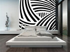 Huge 3D Black White 22 Wall Paper Wall Print Decal Wall Deco Indoor Murals Wall