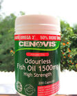 Cenovis Fish Oil 1500mg (200 Capsules) ::Buy 1 2 or 3 Tubs - Discounts Apply!::