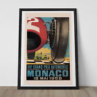 VINTAGE GRAND PRIX Poster - Classic Art Deco Poster - Ikea Ribba...