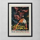 RETRO MOVIE POSTER - Terror In Space - Vintage B-Movie Poster - Cult Movie Poste