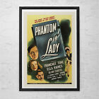 PHANTOM LADY Movie Poster -  Classic Movie Poster -  Film Noir Movie Poster - Fi $9.95 USD on eBay