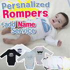 Personalized Baby Rompers /  Boys or Girls Pajamas / Baby Clothes