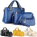 3PC/SET Women Handbag Shoulder Bags Tote Purse Leather Ladies Messenger Hobo Bag