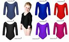 Only Uniform Girls Ballet Dance School PE Game Gymnastics Leotard Stretch Lycra...