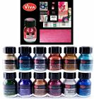 Viva Decor Precious Metal Color Effect Glass Plastic Paint 25ml PICK YOUR COLOR