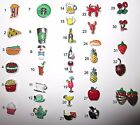 BUY 5/GET 10 FREE! Food & Beverage Floating Coffee/Tea Charms for Glass Locket image