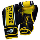 Danger Zone - Genuine Leather Gel Boxing MMA Bag Gloves by  Eclipse Gear