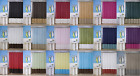 1PC SILKY 2 TONES SOLID BATHROOM FABRIC SHOWER CURTAIN or SOLID LINER H10