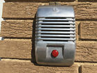Detroit Diecast Wall Art RCA Drive In Speaker Cover With Red Black Or Blue Knob