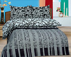 100% Cotton Duvet Cover King Size Duvet Cover Bedding Cover with 2 Pillowcase B3