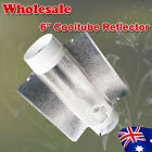 """Hydroponics Wholesale 6x/10x 6"""" Air Cooled Reflector 40cm Glass For MH HPS Lamps"""