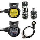 Cressi Mc5 Xs Compact Black + Octopus Xs Compact + Manometer Pms 05CH
