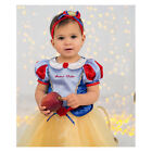 Baby Girls Princess Snow White Official Disney Fancy Dress Fairytale Costume