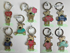 BOOFLE METAL KEYRING Mum, Dad, Taxi, Love