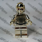 Real LEGO Star Wars CHROME GOLD C3PO minifigure super rare only 10000 made