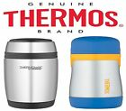 Thermos Insulated Stainless Steel Food Jar Blue 290ml or Curved 400ml Flask Food