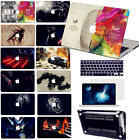 "Black Painting Hard Case+Keypad Cover+SP For Macbook Pro Air 11""13""15""Retina 12"""