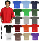 PRO CLUB MEN'S HEAVYWEIGHT COTTON T-SHIRT SIZE S~7XL