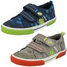 Startrite Boys Canvas Pumps Big Bug