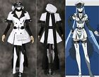 H-3358 Akame Ga Kill Esdeath Kleid Uniform dress Cosplay Kostüm costume n. Maß