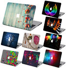 "Painted Pattern Hard Case Shell Cover For  Macbook Air Pro 11""13""15""Retina 12"""