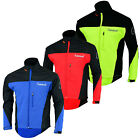 New Men's Soft Shell Jackets Wind Resistant Lightweight Waterproof Cyclist Coats