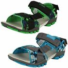 Clarks Open Toe Boys Summer Sandals Zalmo Lad