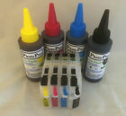 LC-223 Refillable Cartridges with Auto Reset Chips and 400ml of Archival Ink