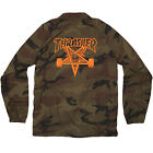 "New THRASHER Skateboard Magazine ""Skategoat"" Coach Jacket (Camo)"