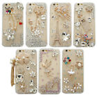 RHINESTONE BLING DIAMOND LUXURY DECO 3D FOR IPHONE 5/6/7 PLUS/X CASE #LCT