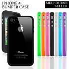Bumper Frame Color Skin Case Cover For Apple iPhone 4, 4S