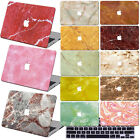 "Marble Painting Hard Case Cover +KB For New Macbook Pro Air 11""13""15"" Retina 12"""