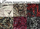 Flutterby Animal Prints Super Chunky Wool/Yarn £2.60 postage any number of balls