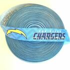 "1"" San Diego Chargers Chevron Grosgrain Ribbon by the Yard (USA SELLER) $9.55 USD on eBay"