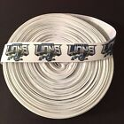 "7/8"" Detroit Lions Full Logo Grosgrain Ribbon by the Yard (USA SELLER) $9.55 USD on eBay"