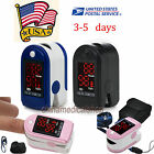 CE&FDA Finger Tip Pulse Oximeter Blood Oxygen Saturation SPO2 monitor USA+ pouch