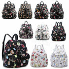 Ladies Faux Leather Unisex College School Rucksack/Backpack HandBag Bag