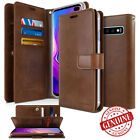 For Samsung Galaxy Note 9 / S9 S8 Plus Dual Shockproof Flip Wallet leather Case <br/> Genuine GOOSPERY For Galaxy S9 S8 S7 edge S6 S5 /Note 8