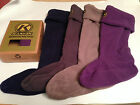 LADIES KANYON FLEECE BOOT LINERS WELLY SOCKS BOOT SOX