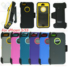 Defender Case for iPhone 5/5S/SE w/ Clip fits Otterbox & Scr