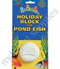 POND HOLIDAY BLOCK - Two Week Fish Feed 14 Day Vacation Pet Food dm Particle Pk